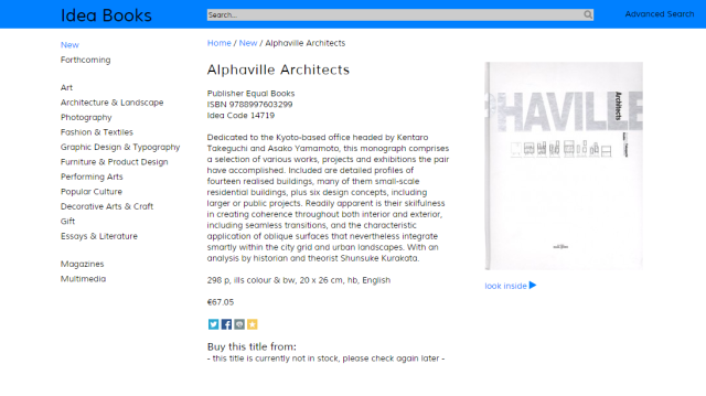 ideabooks alphaville architects