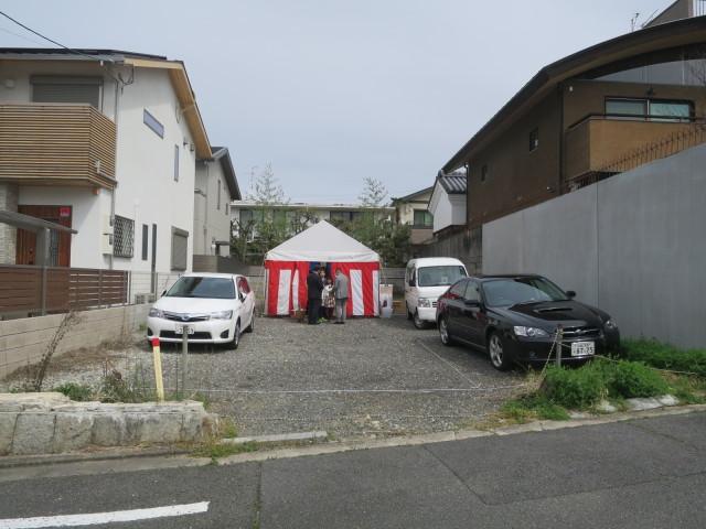 京都の住宅 N house 地鎮祭