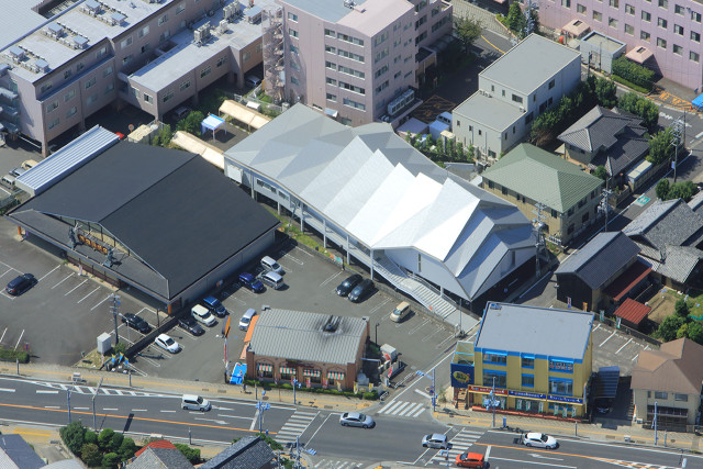 Catholic Suzuka Chorch_Aerial View